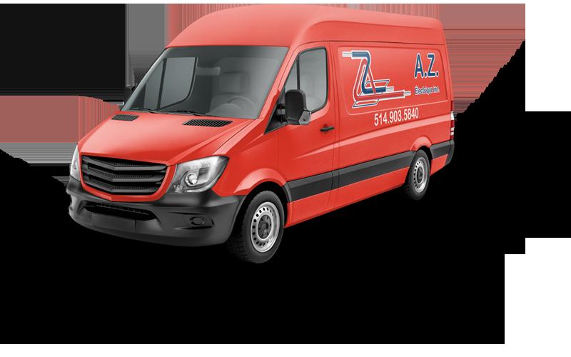 camion électriciens